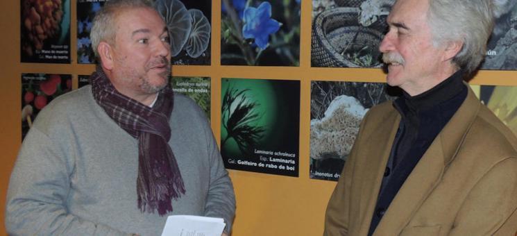 Fernández Bouzas y Míguez Baños dieron a conocer ayer este proyecto en Sálvora