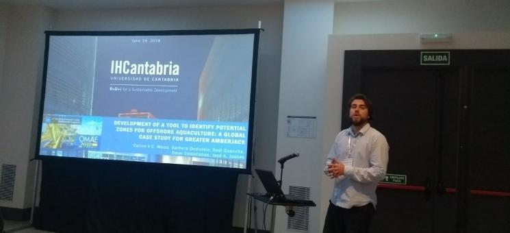 Carlos Weiss presenta el proyecto Atlas en OMAE18