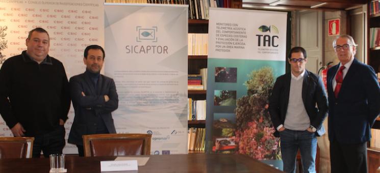 Presentación proyecto sicaptor en santiago