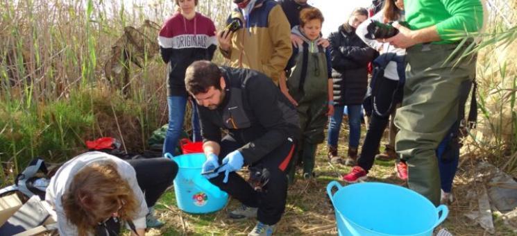Voluntariado para el seguimiento de la anguila (c) ANSE