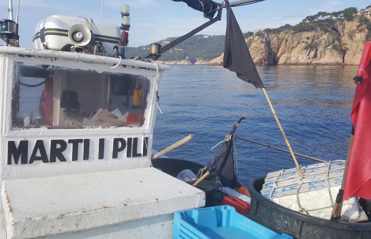 Se inician los muestreos a las embarcaciones de Palamós que participan en el proyecto COFRAREDMED, en el que se pretende obtener una metodología común para la creación de una red de datos pesqueras, ambientales y socioeconómicas de tres comunidades autóno