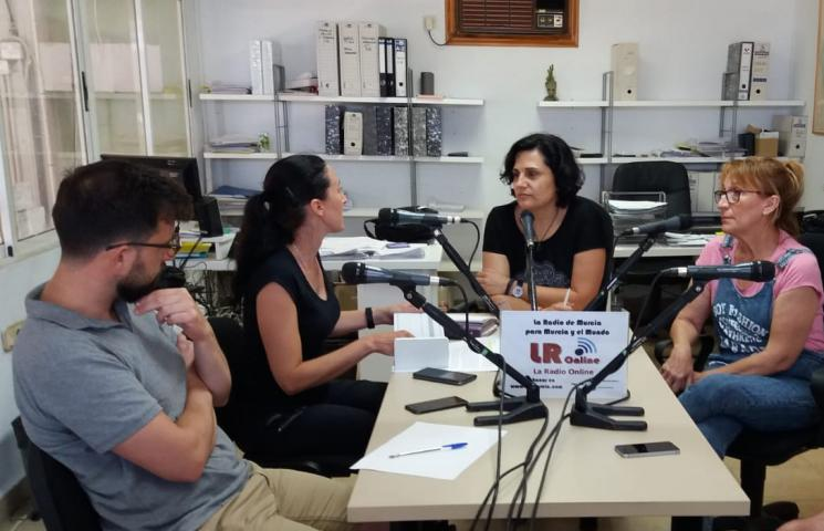 Proyecto Asapemm. Cofradía de Pescadores de San Pedro. Radio LRO Murcia