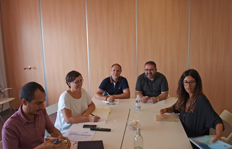 Reunión coordinación MIMECCA 18-9-18
