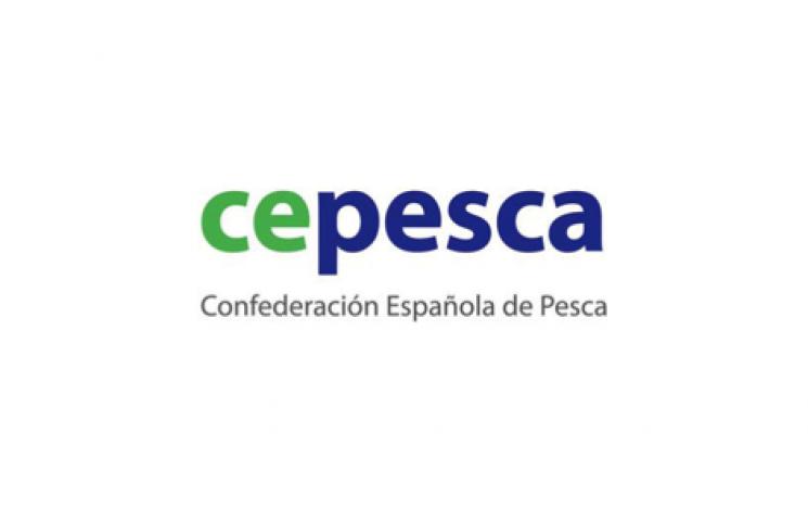logotipo confederación española de pesca