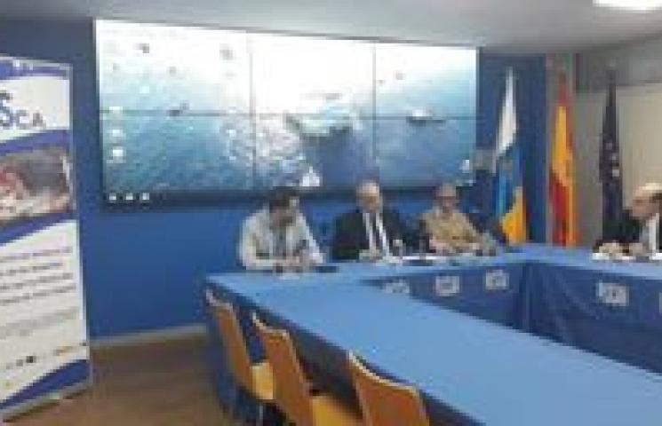 Presentación a la prensa de los resultados del proyecto DESPESCA.