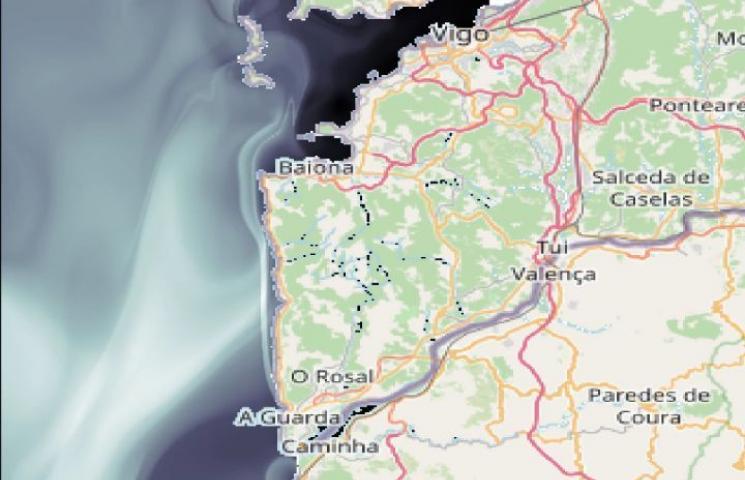 Nuevo video sobre transporte de basura flotante entre rio Miño y Rías Bajas (Vigo y Pontevedra). Autores: CSIC-ICMAT.