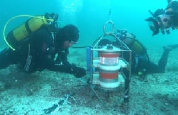 Fondeo ADCP para registro variables oceanográficas (proyecto TAC)