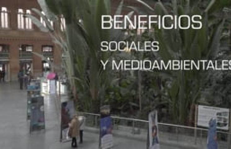 Exposición Reservas Marinas, Garantía de futuro. Estaciones ADIF 2019