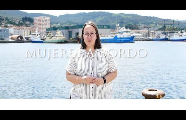REDMAR II Mujeres a Bordo. Embarque Arantxa Toriza