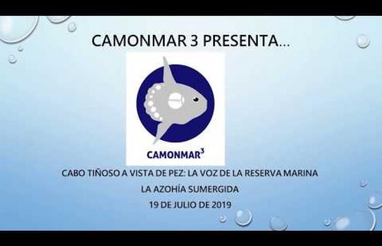 Segundo itinerario sumergido realizado en el marco del proyecto CAMONMAR3. Julio 2019